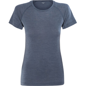 Houdini Airborn t-shirt Dames, canyon blue